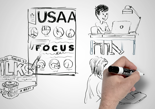 Visual Effects, illustration, Animation, whiteboard, and brand storytelling in San Antonio and Austin, Texas.